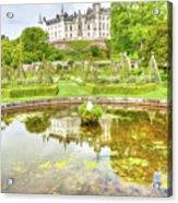 Dunrobin Castle Reflected Acrylic Print