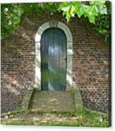 Dutch Door Digital Acrylic Print by Carol Groenen
