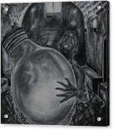 Dying Soul Acrylic Print by Kodjo Somana