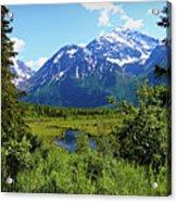 Eagle River- Alaska Acrylic Print