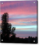 Early Evening Sky Acrylic Print