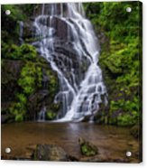 Eastatoe Falls Acrylic Print