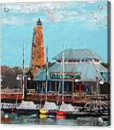 Eb And Flo's Steamhouse Acrylic Print