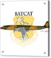 Ec-121r Batcat 6721498 Acrylic Print