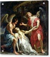 Ecstasy Of Mary Magdalene Acrylic Print