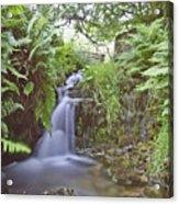 Edale River Acrylic Print
