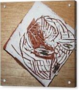 Edith - Tile Acrylic Print