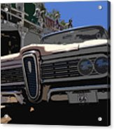 Edsel On Route 66 Acrylic Print