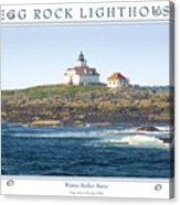 Egg Rock Island Lighthouse Acrylic Print