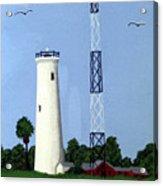 Egmont Key Lighthouse Acrylic Print
