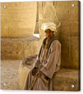 Egyptian Caretaker Acrylic Print