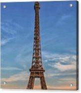 Eiffel Tower In France Acrylic Print