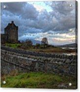 Eilean Donan Castle In The Morning Light Acrylic Print