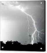 Electricity Vs Electricity-signed Acrylic Print