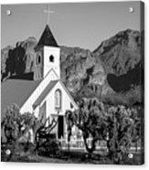 Elvis Chapel Arizona Acrylic Print