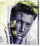 Elvis Presley Sun Studio Collection Acrylic Print