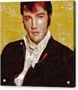 Elvis Presley Y Mb Acrylic Print