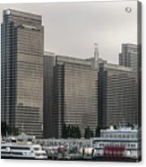 Embarcadero Center Buildings In San Francisco, California Acrylic Print