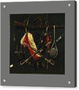 Emblems Of The Civil War Acrylic Print