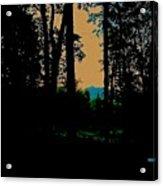 Emerald Mountain Acrylic Print