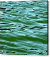 Emerald Sea Acrylic Print