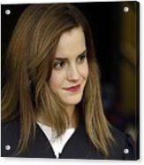 Emma Watson Acrylic Print