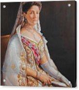 Empress Alexandra Feodorovna Of Russia Acrylic Print