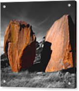 Enchanted Rock Megaliths Acrylic Print