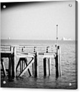 End Of The Pier Acrylic Print