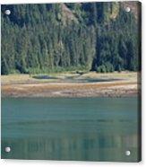 Endicott Glacier Area  Acrylic Print