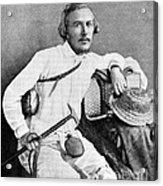 Ernst Haeckel, Naturalist And Artist Acrylic Print