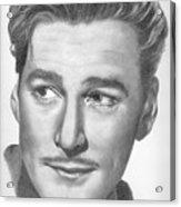 Errol Flynn Acrylic Print