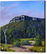 Escarpment Road Acrylic Print