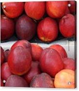 European Markets - Nectarines Acrylic Print