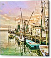 Everett Seafood Acrylic Print