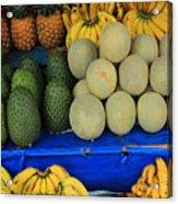 Exotic Fruit Market Acrylic Print