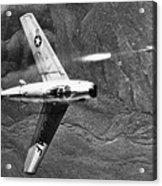 F-86 Jet Fighter Plane Acrylic Print