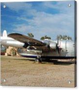 Fairchild Flying Boxcar N15501 Buckeye Arizona Acrylic Print