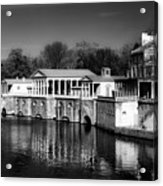 Fairmount Water Works - Philadelpha Acrylic Print