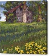 Fairplay Farmhouse Acrylic Print