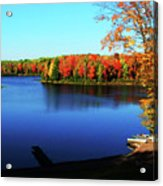 Fall In Northern Wisconsin Acrylic Print