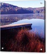 Fall Morning On The Lake Acrylic Print