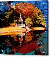 Fall Orbit Acrylic Print