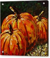 Fall Whisper Acrylic Print by Vickie Warner