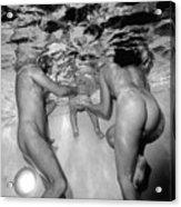 Nude Family Pool Acrylic Print