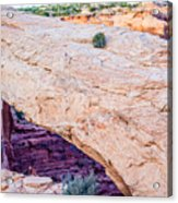famous Mesa Arch in Canyonlands National Park Utah  USA Acrylic Print