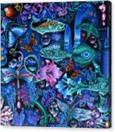 Fantasy Aquarium Acrylic Print