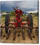Farmall Tractor Acrylic Print