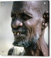 Farmer In Ethiopia Acrylic Print