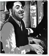 Fats Waller Stormy Weather Set 1943-2015 Acrylic Print
